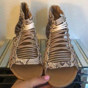 Snake Sandals